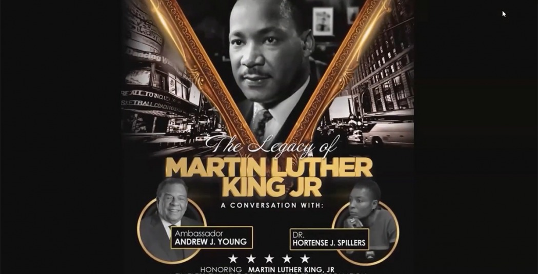 Poster promoting MLK discussion