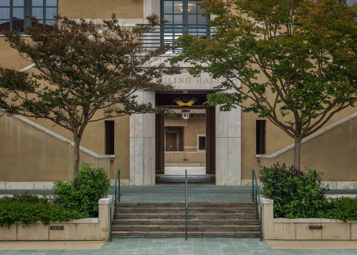 Image of campus architecture.