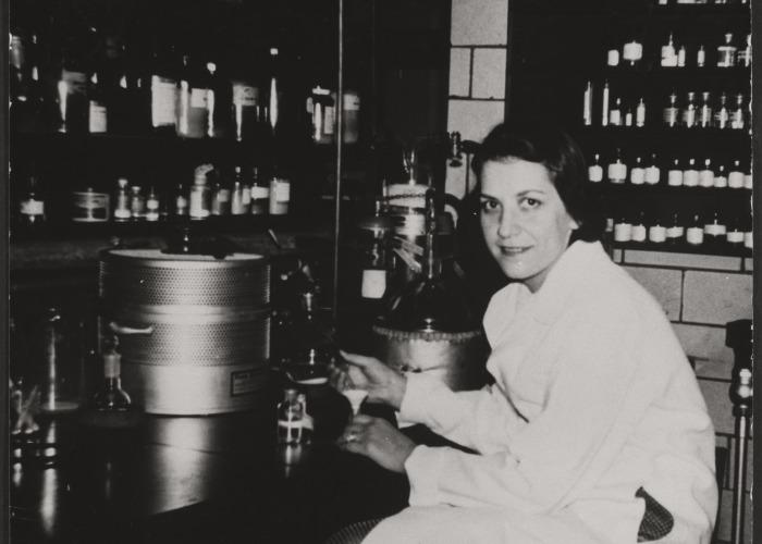 Evelyn Hodes Wilson Harvard Lab