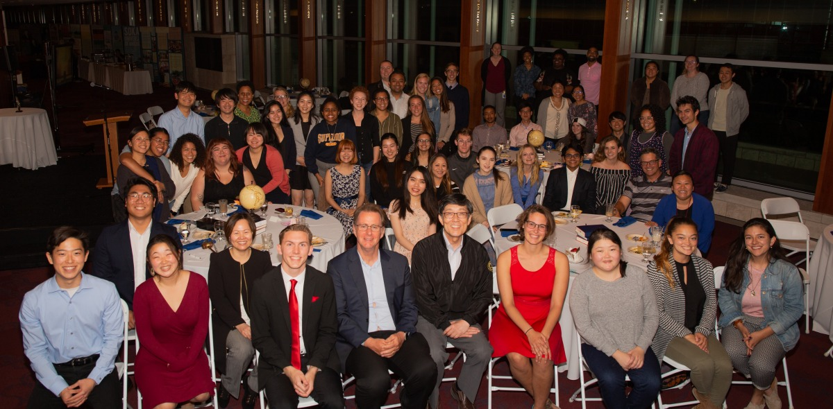 Photo of attendees at the Student Leadership Recognition Night