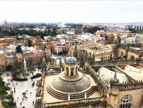 Image overlooking Seville, Spain.