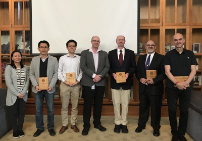 A picture of recipients of the latest faculty fellows.