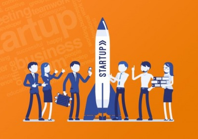 Graphic of start-up