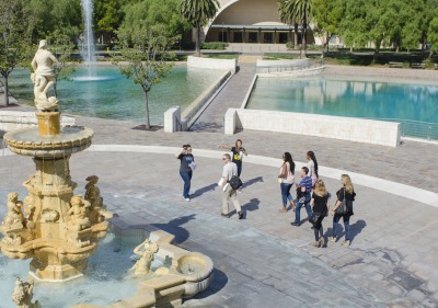 Soka University student-led tour.