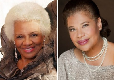 Barbara Morrison and Sherry Williams