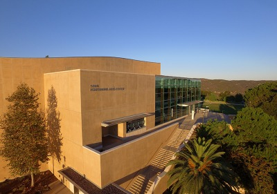 Exterior of the PAC