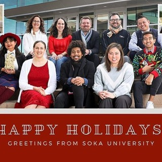 Happy Holidays from all of us here in Enrollment Services! As a reminder our office will be closed today through January 1st. Applicants for fall 2020 this is a great time to work on that application. Have a wonderful Holiday Break! 🎄🎉⛄️ #happyholidays #GoSoka