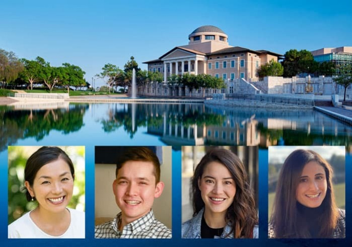 Alumni panelists bio photo collage