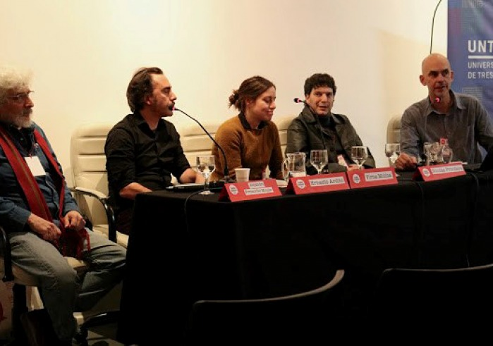 Panel at Visible Evidence documentary film festival