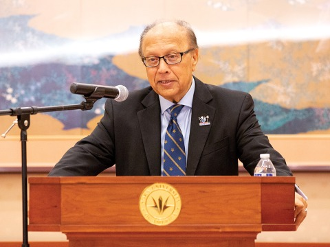 Ambassador Chowdhury speaks at dialogue